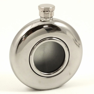 5 oz. Stainless Steel Window Flask