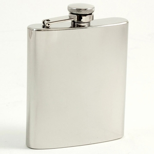 7 oz. Stainless Steel Mirror Flask
