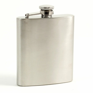 7 oz. Stainless Steel Satin Flask