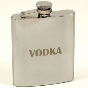 7 oz. Stainless Steel Vodka Flask