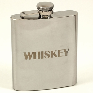 7 oz. Stainless Steel Whiskey Flask