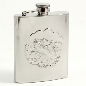 8 oz. Stainless Steel Fishing Flask