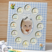 Baby Boys First Year Collage Frames