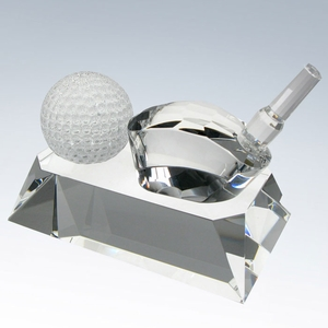 Crystal Golf Ball & Driver