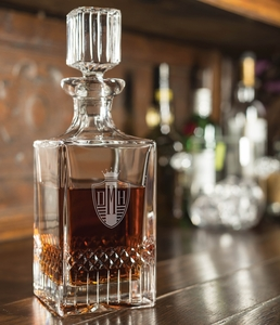 30 Oz Exception Crystal Liquor Decanter