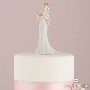 Exasperated Bride Figurine