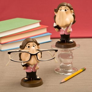 Female teacher eyeglass holder from Gifts by Fashioncraft