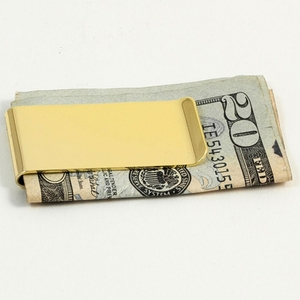 Gold Plated Money Clip-2
