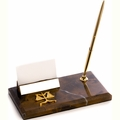 Legal Business Card Holder and Pen Stand