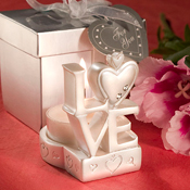 Love and Heart Wedding Favors