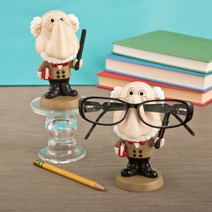 Male teacher eyeglass holder from Gifts by Fashioncraft