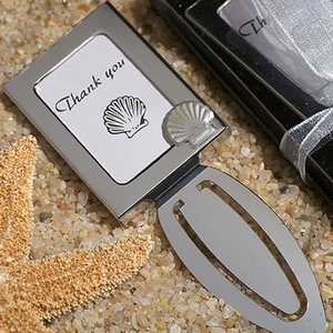 Mark it with Memories Seashell Bookmark Frame