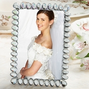 Silver and Chrome Place Card Frames