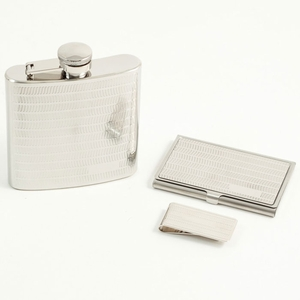 Stainless Steel 3 Piece Gift Set