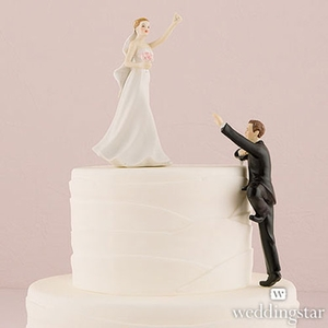Victorious Bride Figurine Cake Topper