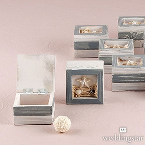 Wooden Beach Trinket Boxes