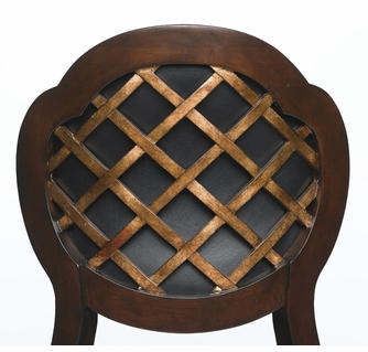 Cool Alaina Swivel Counter Stool Distressed Cherry Copper Unemploymentrelief Wooden Chair Designs For Living Room Unemploymentrelieforg