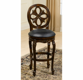 Fantastic Rosalee Swivel Counter Stool Distressed Cherry With Copper Unemploymentrelief Wooden Chair Designs For Living Room Unemploymentrelieforg