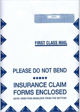 CMS1500 Claim Form Envelopes