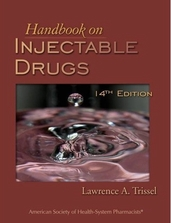 Handbook on Injectable Drugs 14th Edition