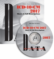 ICD-10-CM 2017 Data Files