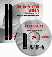 ICD-9-CM 2015 Data File, Short & Full Descriptions