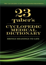 Taber's Cyclopedic Medical Dictionary 23rd Edition