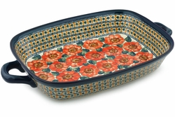 Baking Dish with Handles, Extra  Large