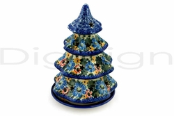 Christmas Tree Candle Holders 8""