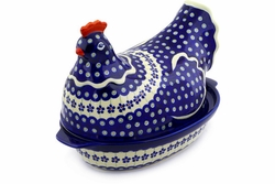Hen Shaped Casserole with Lid