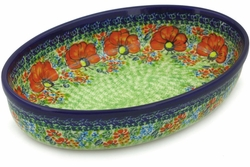"11"" Oval Baking Dishes"