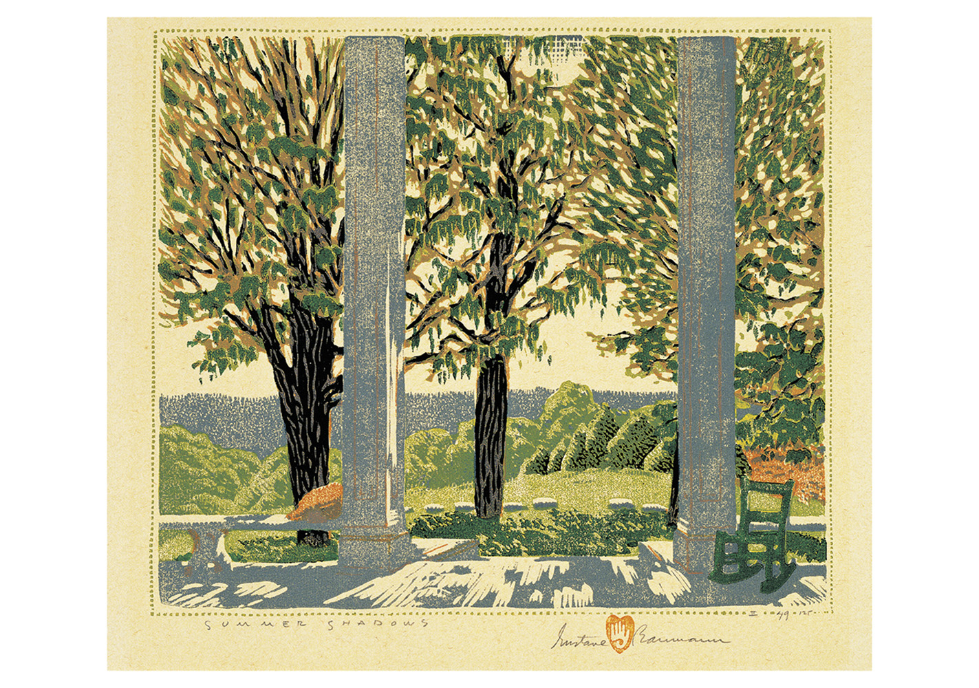 A Quiet Corner The Woodblock Prints Of Gustave Baumann Boxed