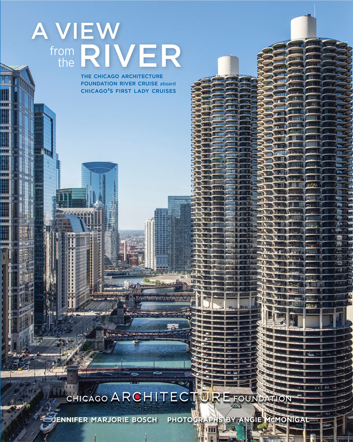a view from the river: the chicago architecture foundation river