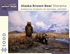 Alaska Brown Bear Diorama 1,000-piece Jigsaw Puzzle
