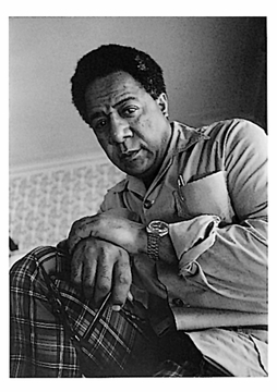 Alex Haley Postcard