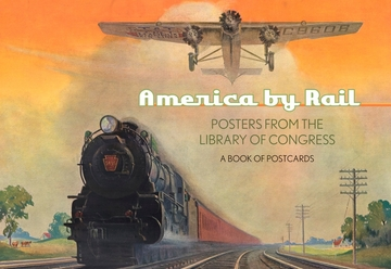 America by Rail Book of Postcards