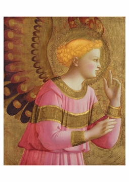 Annunciatory Angel Postcard