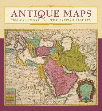 Antique maps 2019 wall calendar gumiabroncs Gallery