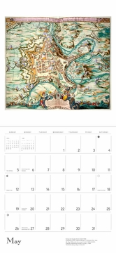 Antique Maps 2019 Wall Calendar