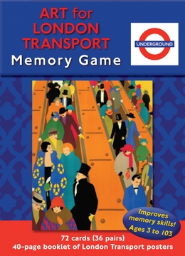 Art for London Transport Memory Game