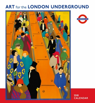 Art for the London Underground 2018 Wall Calendar