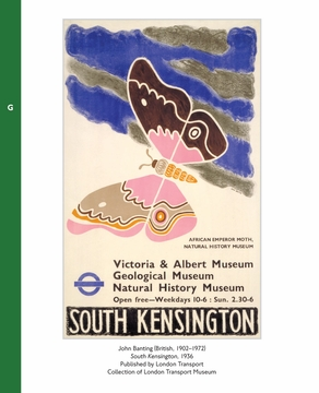 Art for the London Underground Deluxe Address Book