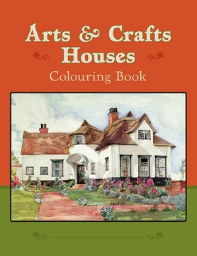 Arts & Crafts Houses Coloring Book