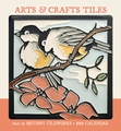 Arts & Crafts Tiles 2018 Mini Wall Calendar