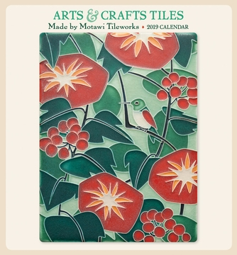 Arts & Crafts Tiles 2019 Mini Wall Calendar