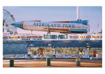 Astroland Rocket, Gregory and Paul's Notecard