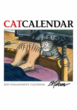 B. Kliban: CatCalendar 2019 Engagement Calendar