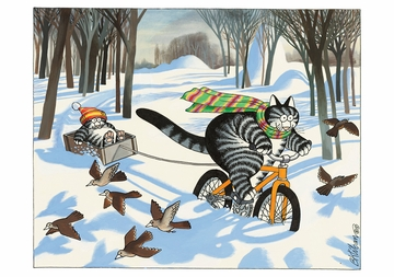 B. Kliban: CatSeason Holiday Card Assortment