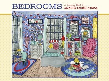 Bedrooms: A Coloring Book by Amanda Laurel Atkins