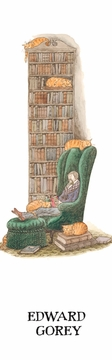 Bibliophile with Cats Bookmark